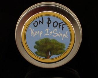 Vegan Sandalwood Solid Perfume/Sample 0.5oz