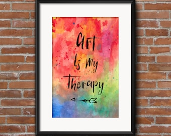 3 Art quote  printables - Commercial usage license instant download