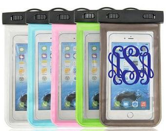 Monogrammed Waterproof Phone Case/Pouch