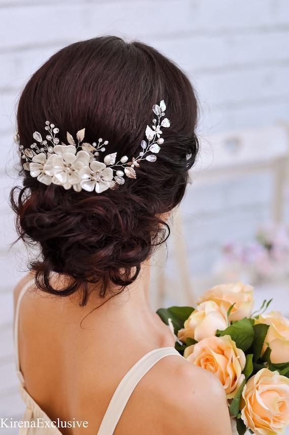 Wedding Headpiece Wedding Hair Piece Bridal Hair Accessories Wedding Head  Piece for Bride Headpieces Bridal Hair Vine Bridal Hair Pieces