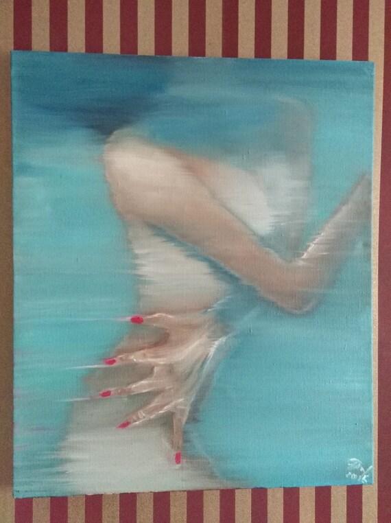 Woman painting nails naked cum slurp xxx