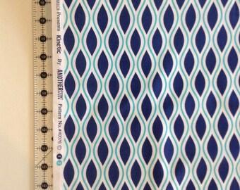 Kinetic geometric Fabric by the Yard-Windham Fabrics