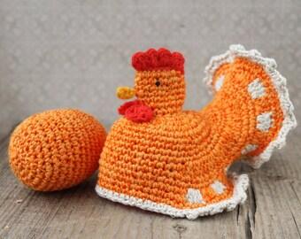 Huhn Ei Stulpen Ostern Geschenk Häkeln Ostern Huhn Stofftiere Etsy