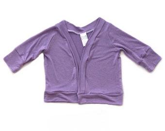 cb0398d51 Lilac girls cardigan