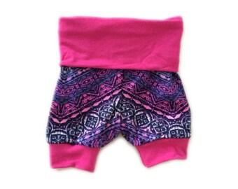 Pink Shorts Baby Girl Bottoms