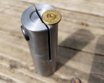 Bullet Casing Cutting Fixture, Bullet Cutting Fixture, Bullet Casing Fixture, bullet slices, shotgun slices - lathe fixture tool