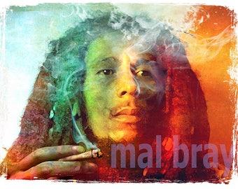 Bob Marley, Kaya, print, poster