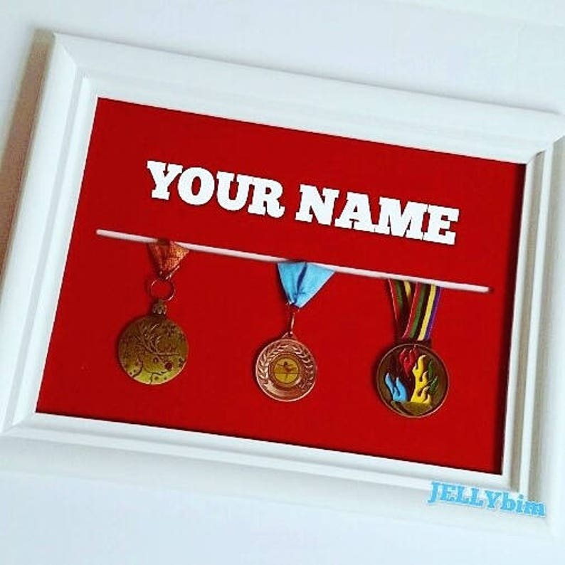 Medal Display Board  Standard size  Hanger, storage  Personalised  Sports,  Gymnastics, Football, Dance, Running, Competition