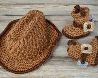 b97d08849c6a2 Crochet cowboy set