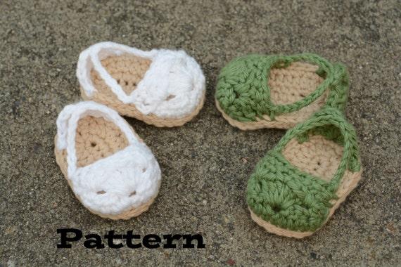 Pdf Pattern Doll Shoe Pattern Crochet Espadrilles For 18 Etsy