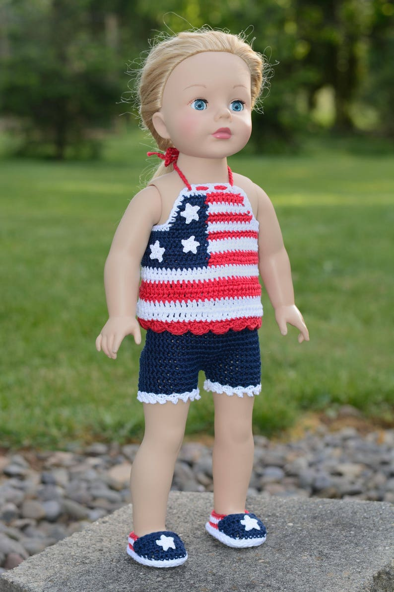 6b7e2a1aedeb 18 Inch Doll Shorts Set 18 Doll Halter Top Shorts and | Etsy