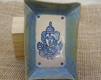 Ganesha, Ganapati, Vinayaka, Hindu Deity, Elephant God Offering Rectangle Plate