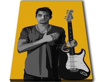 Lyrics Singer John Mayer INSPIRED WALL ART Print Guitarist Poster A4 A3