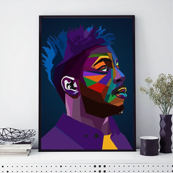 Isaiah Rashad New Silk Poster Custom Wall Decor
