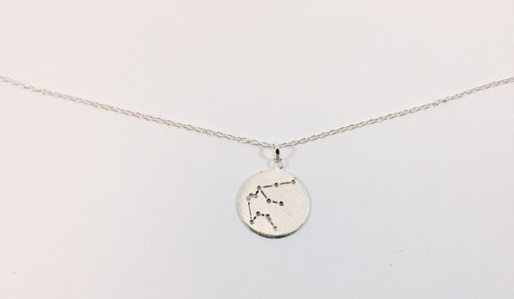 Star constellation Pendant Aquarius