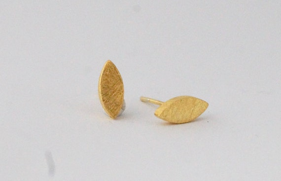 Matte 925 Silver/Gold Plated Studs, Minimalist Studs, Everyday Studs
