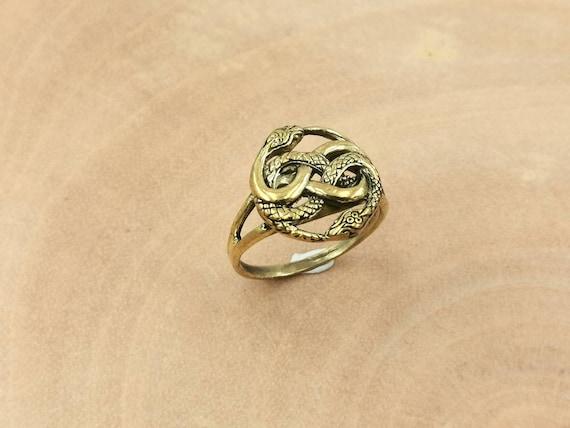 Auryn Ring Brass Unisex