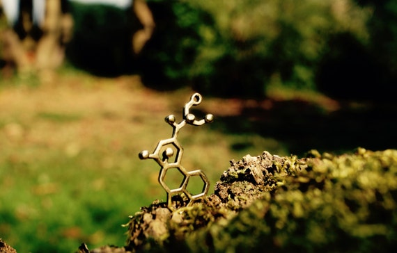 LSD Necklace Small, Molecular Structure LSD, Small LSD Pendant