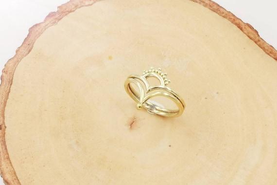 Golden Boho Princess Ring