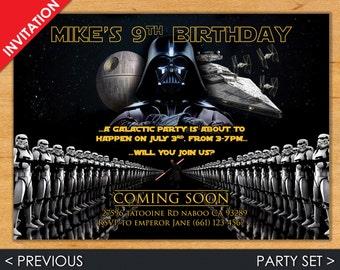 Darth Vader Invites Etsy