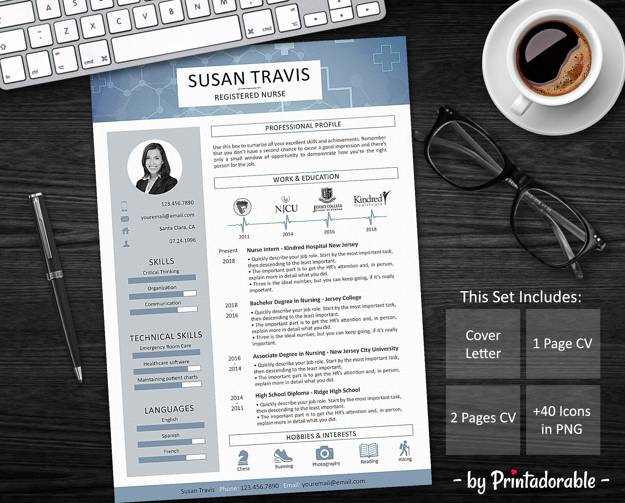 resume template nurse resume doctor resume medic resume