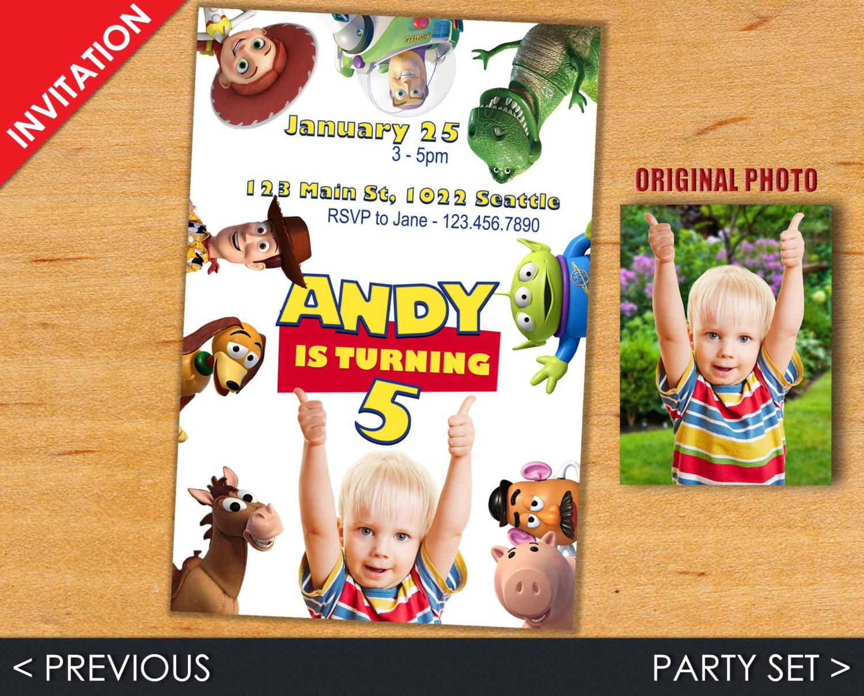 Toy Story Invitation Toy Story Invite Toy Story