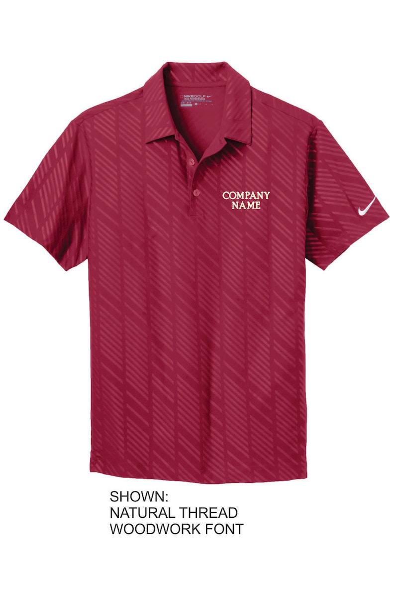 Personalized Nike Company Polo Custom Company Name Men S Etsy