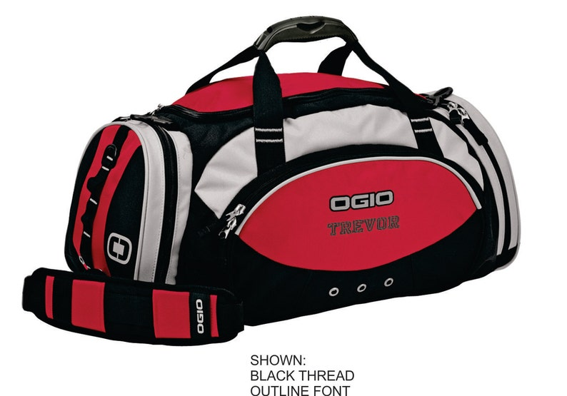 Personalized Duffel Bag Ogio Gym Bag Custom Travel Bag  5aa350b15f84a