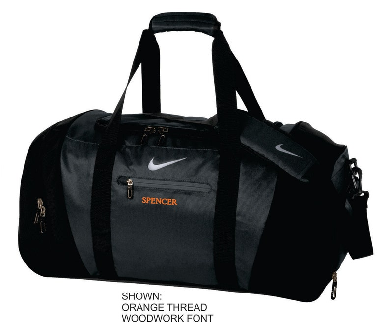 7d802b3f4718 Personalized Gym Bag Nike Duffel Bag Custom Travel Bag
