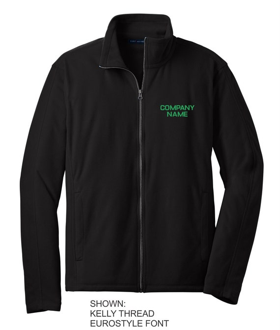 Personalized Sports Fleece, Full-Zip Jacket , Custom Team Name Fleece, Monogrammed Jacket, Men's Custom Jacket, Gift for Him. F223