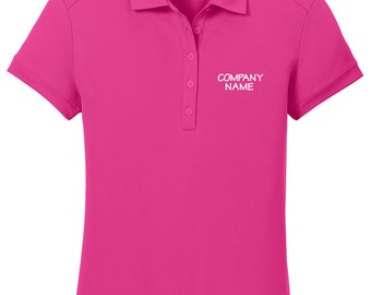 Personalized Nike Company Polo, Monogrammed Company Name Polo, Custom Company Name Men's Polo, Dri-Fit Golf Polo, Gift for Him. 527807