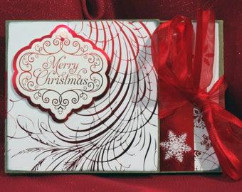 Kit Red & White Reindeer
