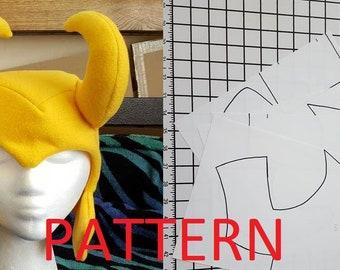 Chibi Loki Fleece Hat Pattern