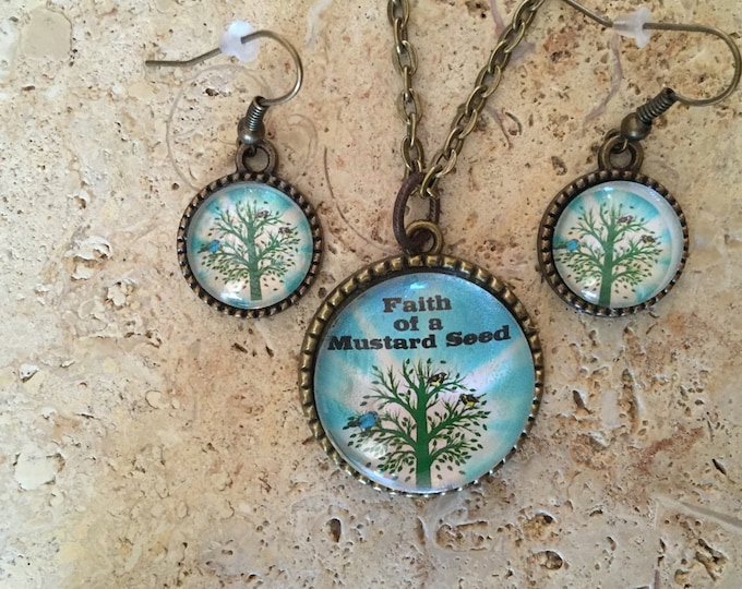 Tree of Life reversible jewelry
