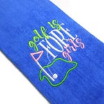 best golf towel, gift for her, golf is fore girls, personalize gift, affordable golf, amazing golf gift, personalized towel, best mom gift