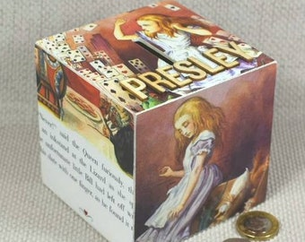Alice in Wonderland Money Box with Personalised Option includes Free Gift Wrapping!