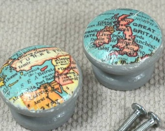 Map Knobs/Pulls
