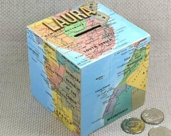 Map Money Boxes