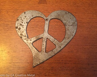 Peace Heart Sign