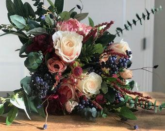 Bohemian Dreams Bridal Bouquet - Faux Flowers