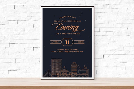 Diy Printable Special Event Flyer Template Ms Word Flyer Etsy
