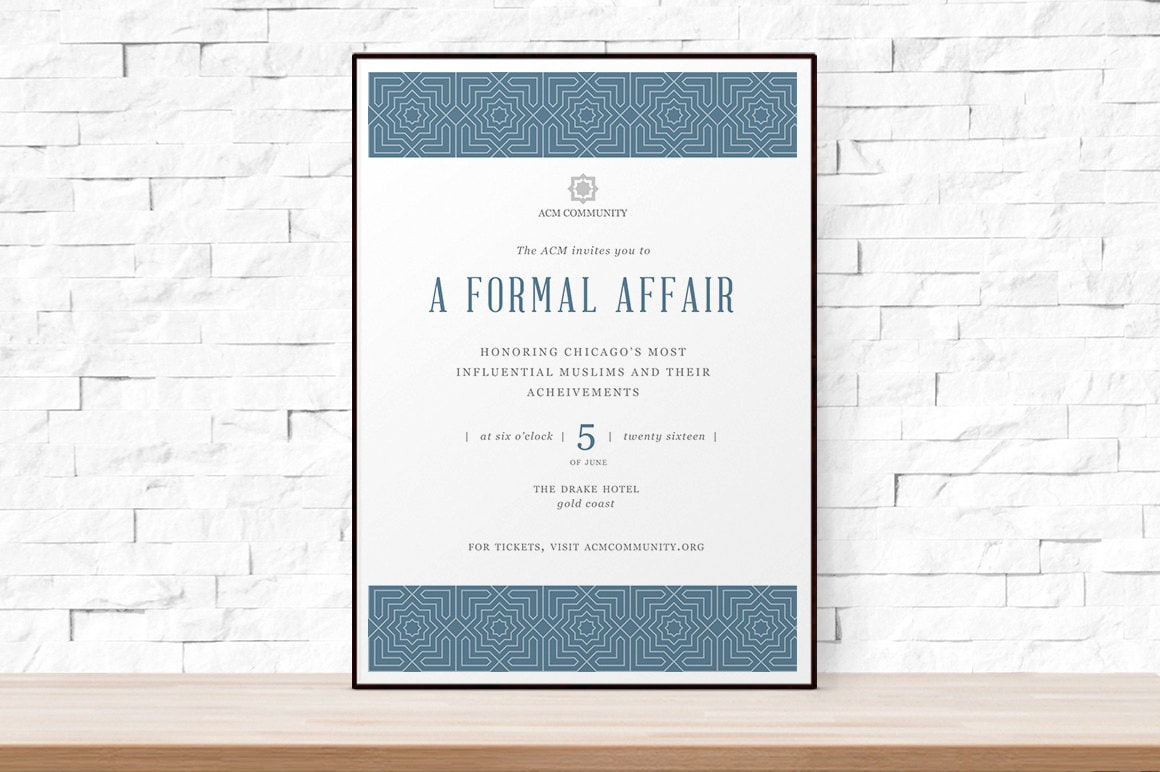 diy printable event flyer template formal gala invitation