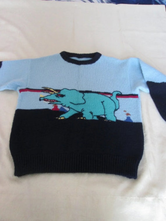 Vintage Pullchild 5-6 years/ Vintage Children's Sw