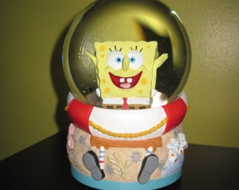 Sponge Bob musical globe / world music SpongeBob