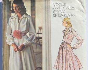 Vintage Vogue Sewing Pattern Oscar De La Renta 2880 Vogue Americana