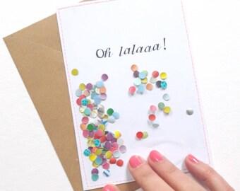 Ohlalaaa! I Ansichtkaart/Postcard