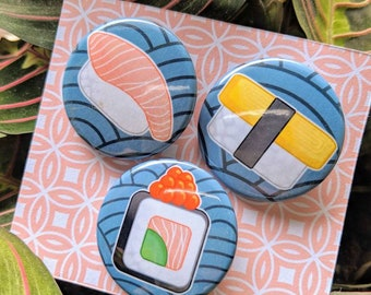 Sushi Button Pack