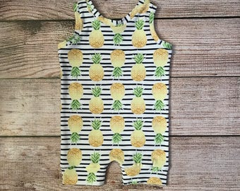 97ff5ffdc2d Baby romper   toddler romper   girls romper   romper   pineapple romper    summer romper   first birthday romper   first birthday outfit