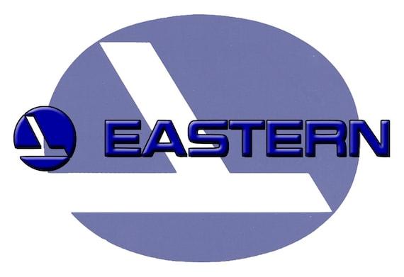 Eastern Airlines Logo Fridge Magnet Lm14030 Etsy