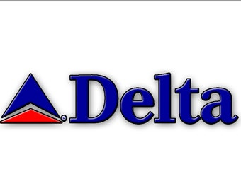 Delta Air lines Logo Fridge Magnet (LM14158)